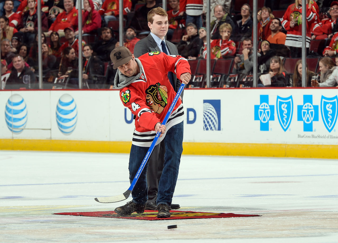 Nov. 2, 2014: Chicago Blackhawks vs. Winnipeg Jets at the United Center in Chicago