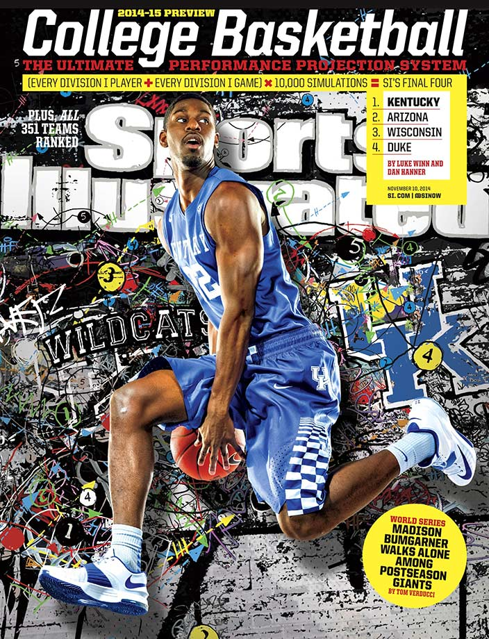 Poythress was one of five different players on a regional cover for the college basketball season preview. On Dec. 11, 2014, Poythress suffered a torn ACL during a team practice while on an uncontested breakaway layup, ending his season after 10 games.