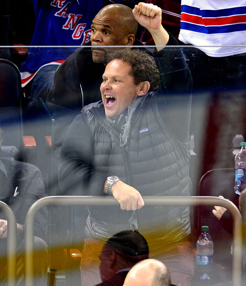 Nov. 11, 2014: New York Rangers vs. Pittsburgh Penguins at Madison Square Garden in New York City