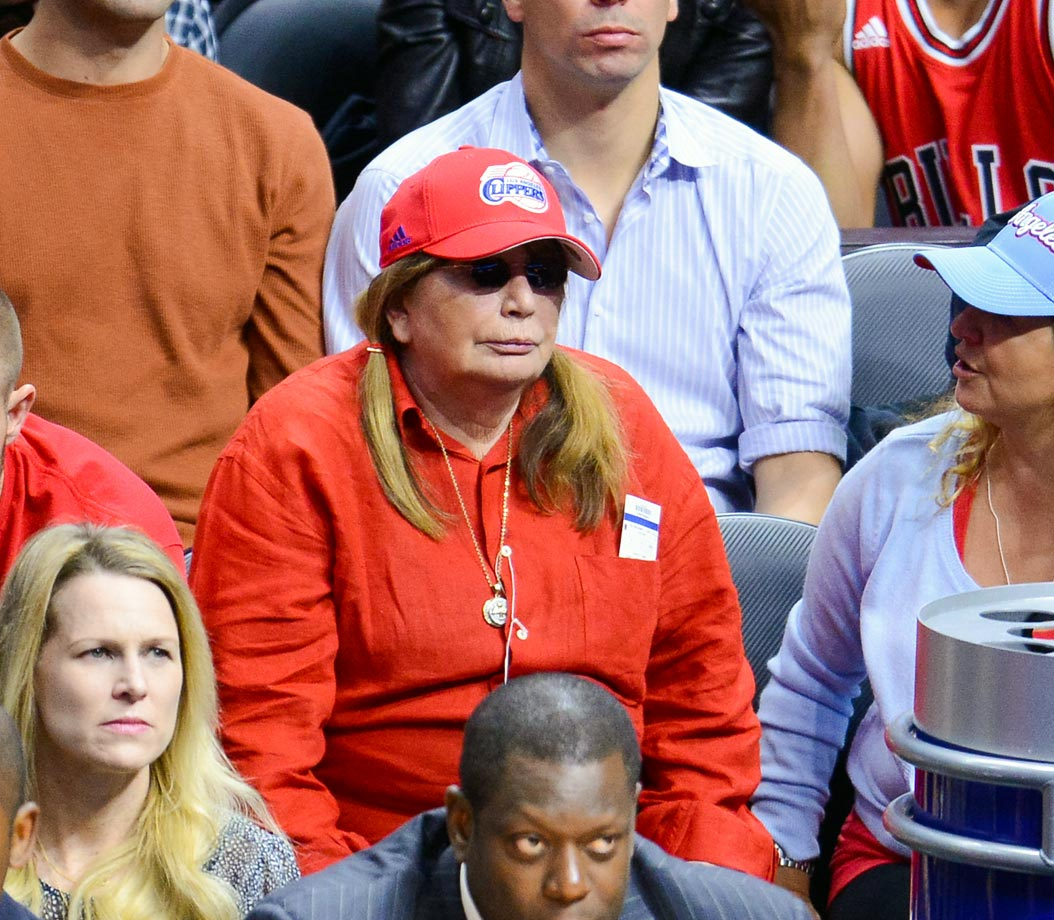 Nov. 17, 2014: Los Angeles Clippers vs. Chicago Bulls at Staples Center in Los Angeles