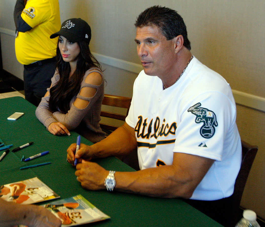 Jose Canseco says his surgically reattached left middle finger fell off while he was participating in a poker tournament.