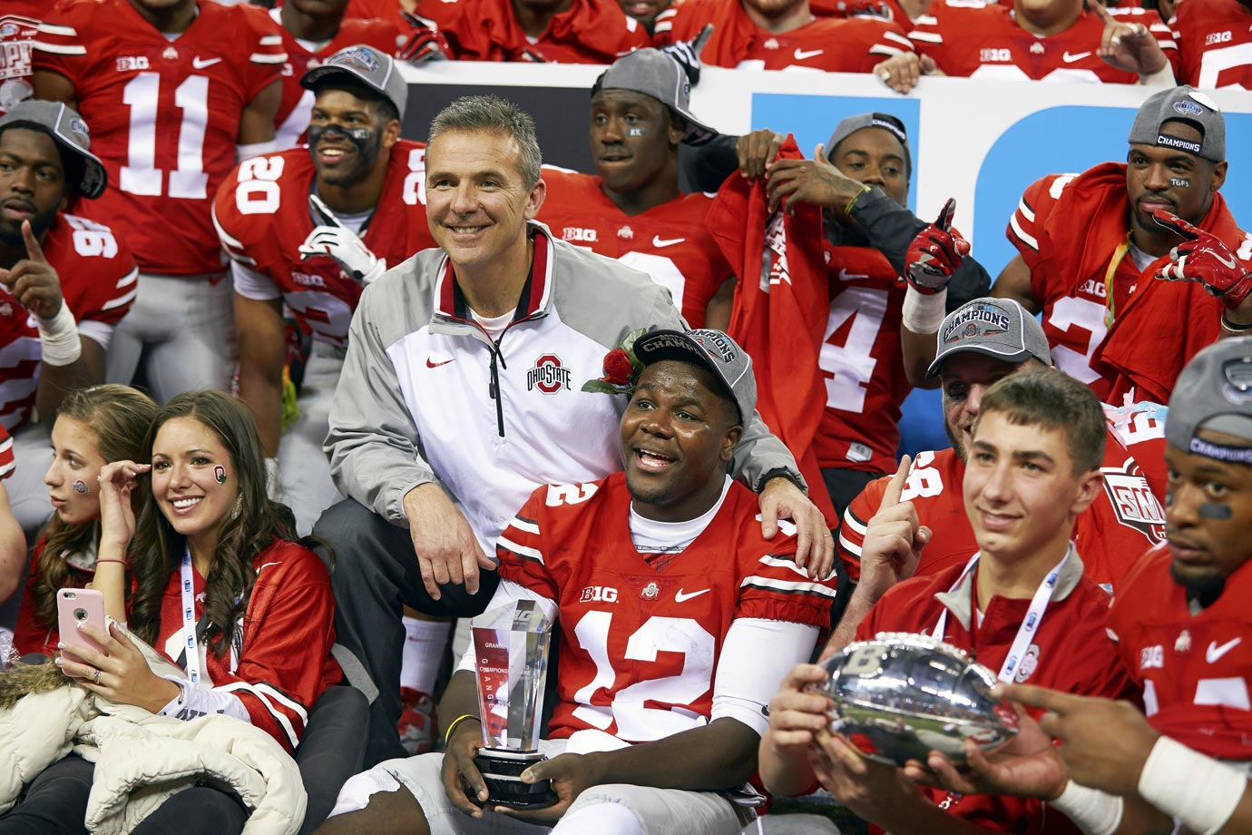No Braxton Miller and no J.T. Barrett? No problem for the Buckeyes. Third-stringer Cardale Jones engineered an annihilation of the Badgers as Ohio State dominate every facet of the game and leapfrogged TCU while holding off Baylor to earn the No. 4 seed in the playoff.