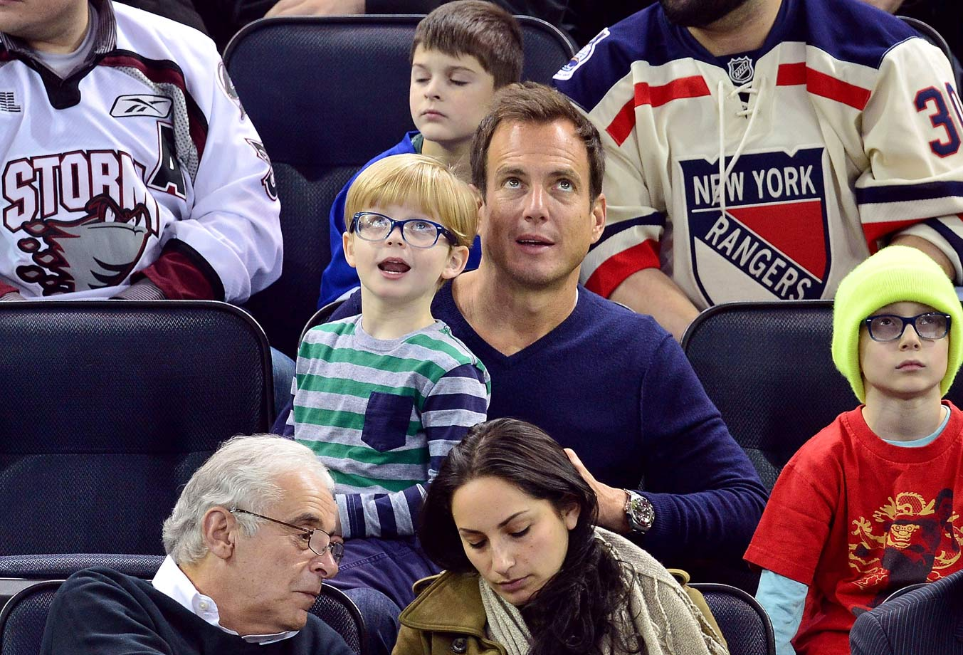 Dec. 23, 2014: New York Rangers vs. Washington Capitals at Madison Square Garden in New York City