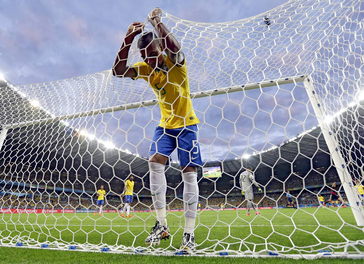 No team has seen more success in the World Cup than the Selecao Brasileira, which has won five championships. This year the whole tournament was brought home, for the first time in 54 years, setting the stage for another shining moment in Brazil's soccer history. But an own goal put the hosts behind in their opening match, setting an ominous tone. Brazil fought its way to the semifinals, where it was crushed by Germany, 7-1, in a mind-boggling blowout. Demoralized, the Brazilians fell to Netherlands, 3-0, in the bronze medal game.