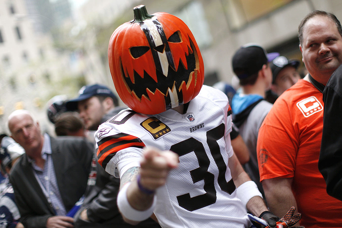 Cleveland Browns fan in 2014.