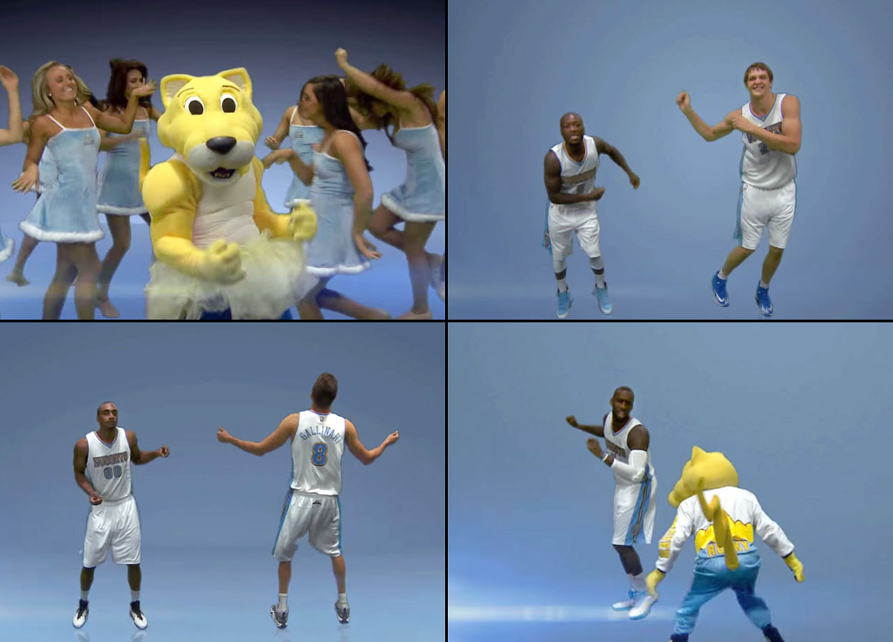 "We're all for a good parody, but the Nuggets' stab at Taylor Swift's ""Shake It Off"" was nuthin' but pain."