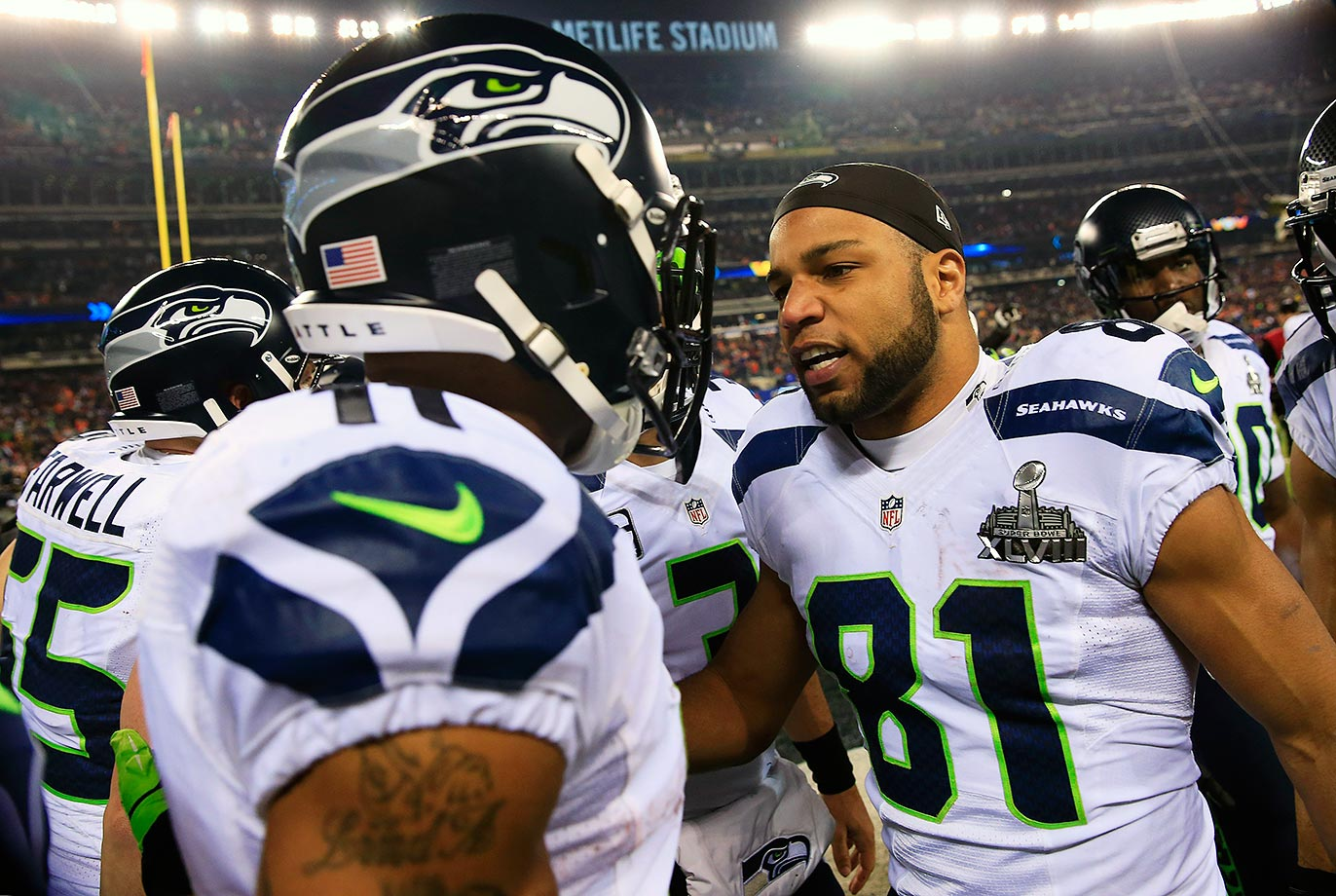 The incident was kept under wraps for almost a year before it was revealed that the two Seattle receivers got into a fight before the Seahawks took on the Broncos in the 2014 Super Bowl. Receiver Michael Robinson eventually broke up the fracas.