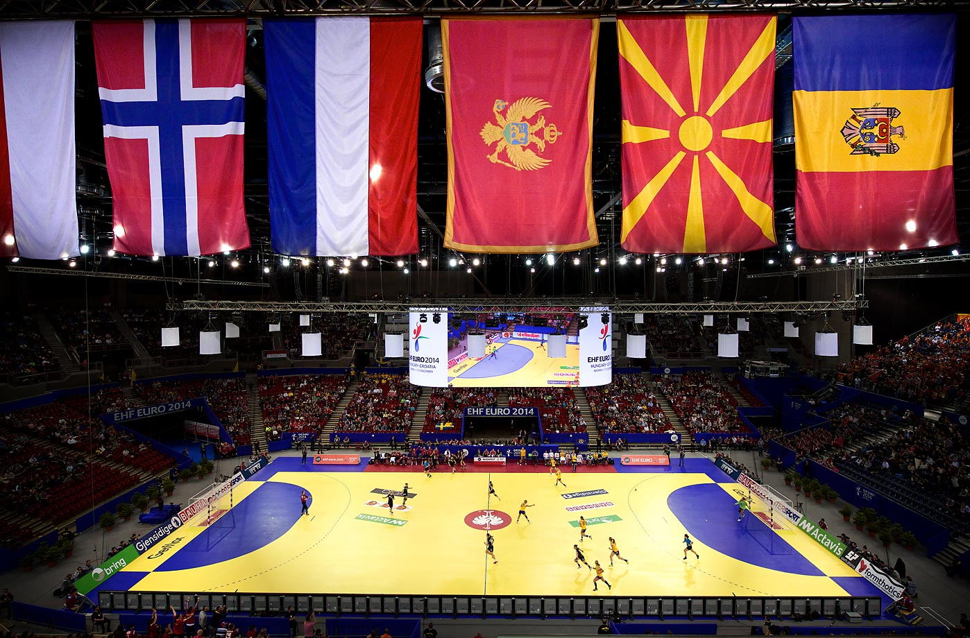 Montenegro takes on Sweden for third place.