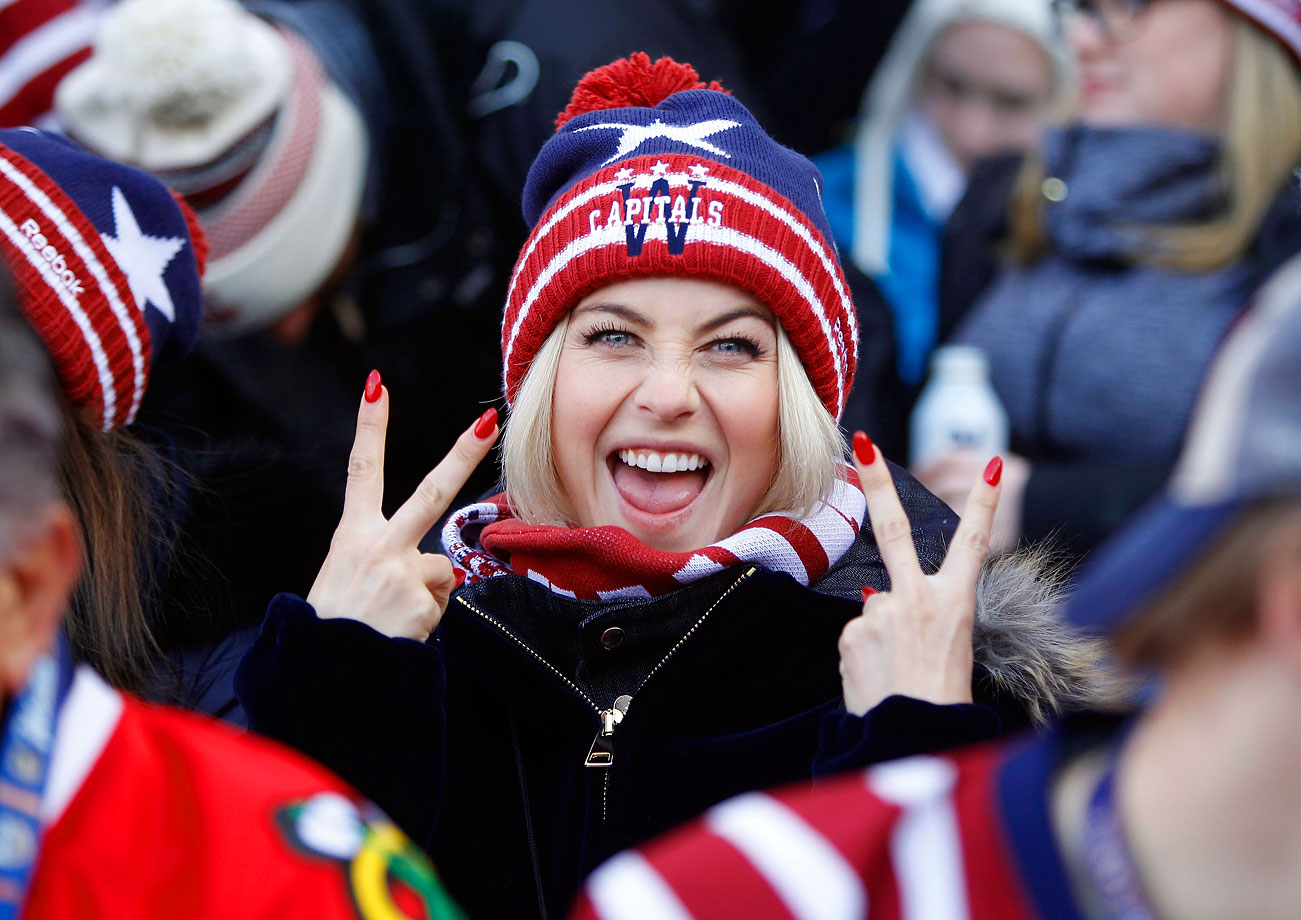 Jan. 1, 2015 (Winter Classic): Washington Capitals vs. Chicago Blackhawks at Nationals Park in Washington, D.C.