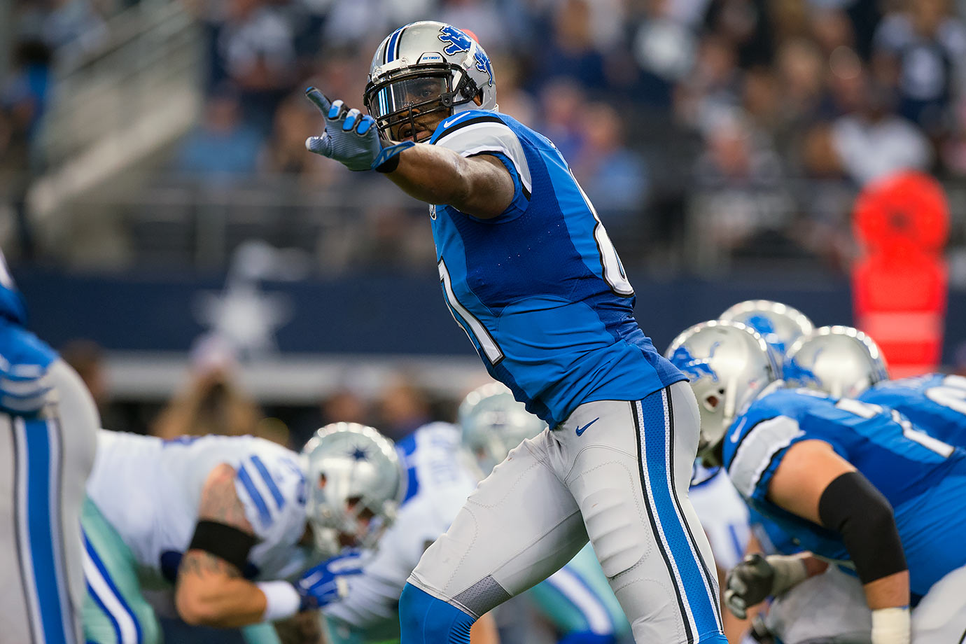Jan. 4, 2015 (NFC Wild Card Playoffs) — Detroit Lions vs. Dallas Cowboys