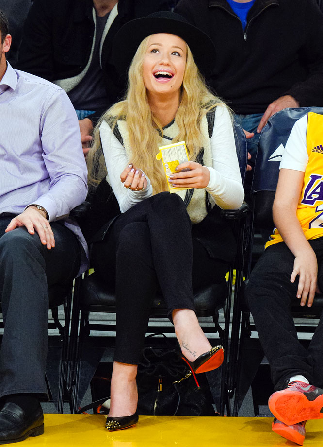 Jan. 11, 2015: Los Angeles Lakers vs. Portland Trail Blazers at Staples Center in Los Angeles