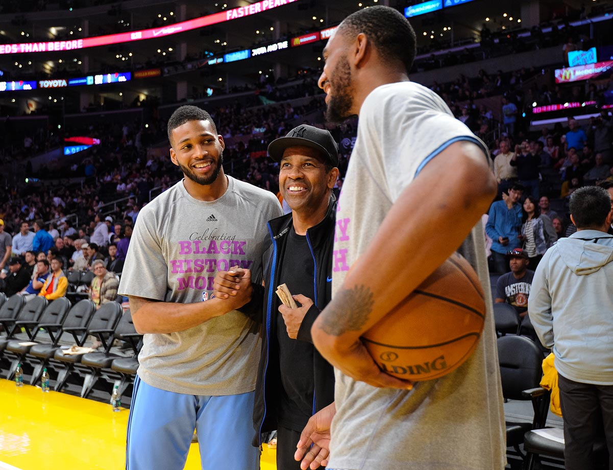 Feb. 10, 2015: Los Angeles Lakers vs. Denver Nuggets at Staples Center in Los Angeles