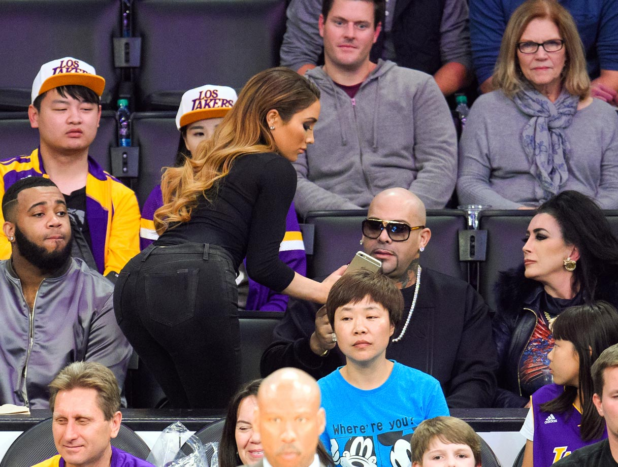 March 1, 2015: Los Angeles Lakers vs. Oklahoma City Thunder at Staples Center in Los Angeles