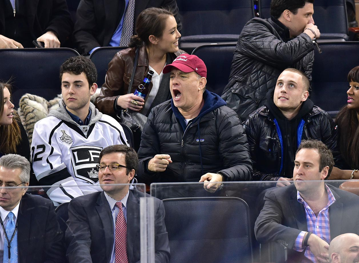 March 24, 2015: Los Angeles Kings at New York Rangers