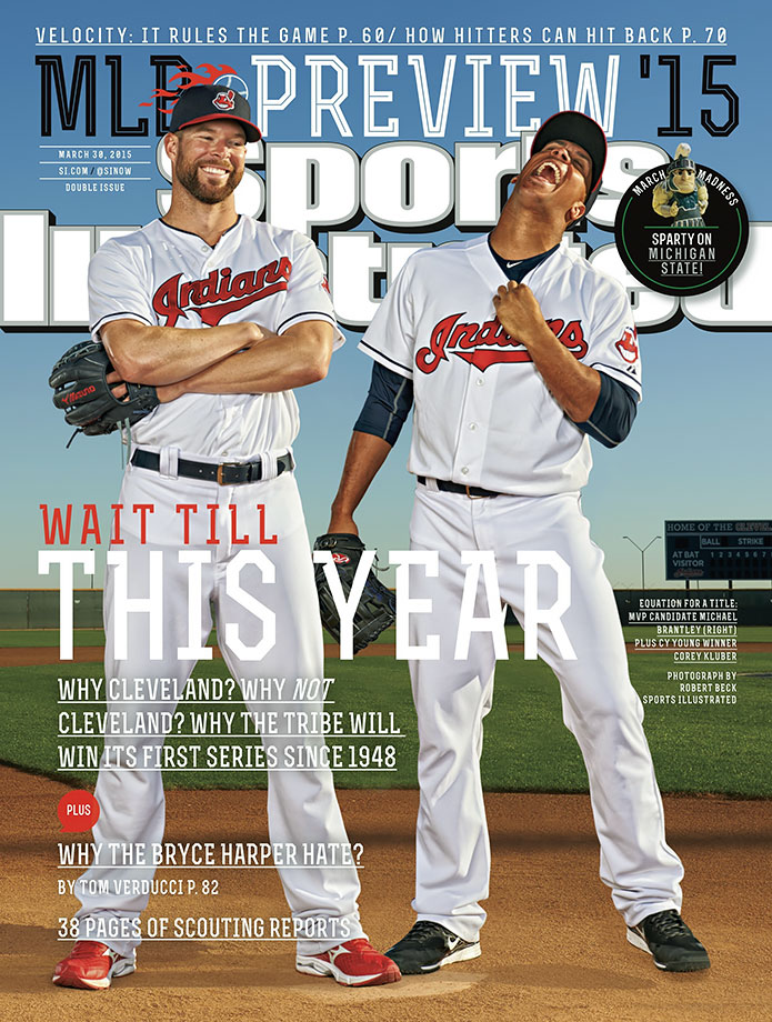 The Cleveland Indians, just like in 1987, were pegged to win the World Series. The Tribe finished 81-80 in 2015, missing the playoffs.