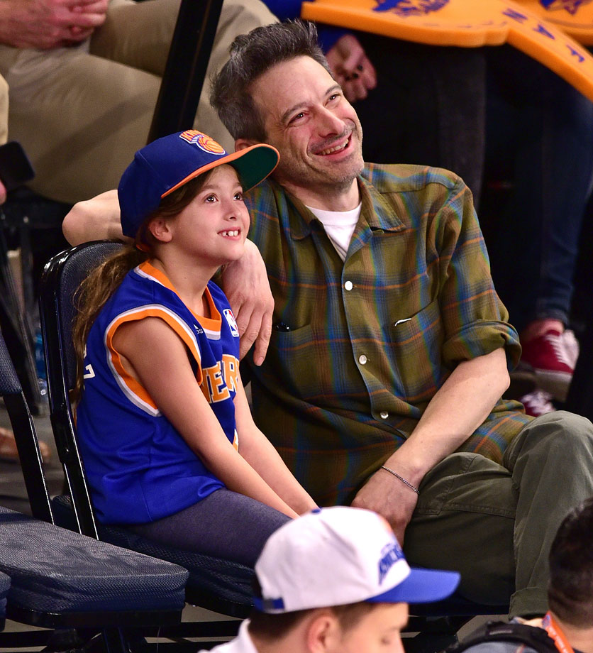 April 10, 2015: New York Knicks vs. Milwaukee Bucks at Madison Square Garden in New York City