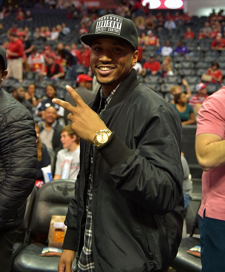 April 19, 2015: Atlanta Hawks vs. Brooklyn Nets at Philips Arena in Atlanta — Eastern Conference Quarterfinals, Game 1
