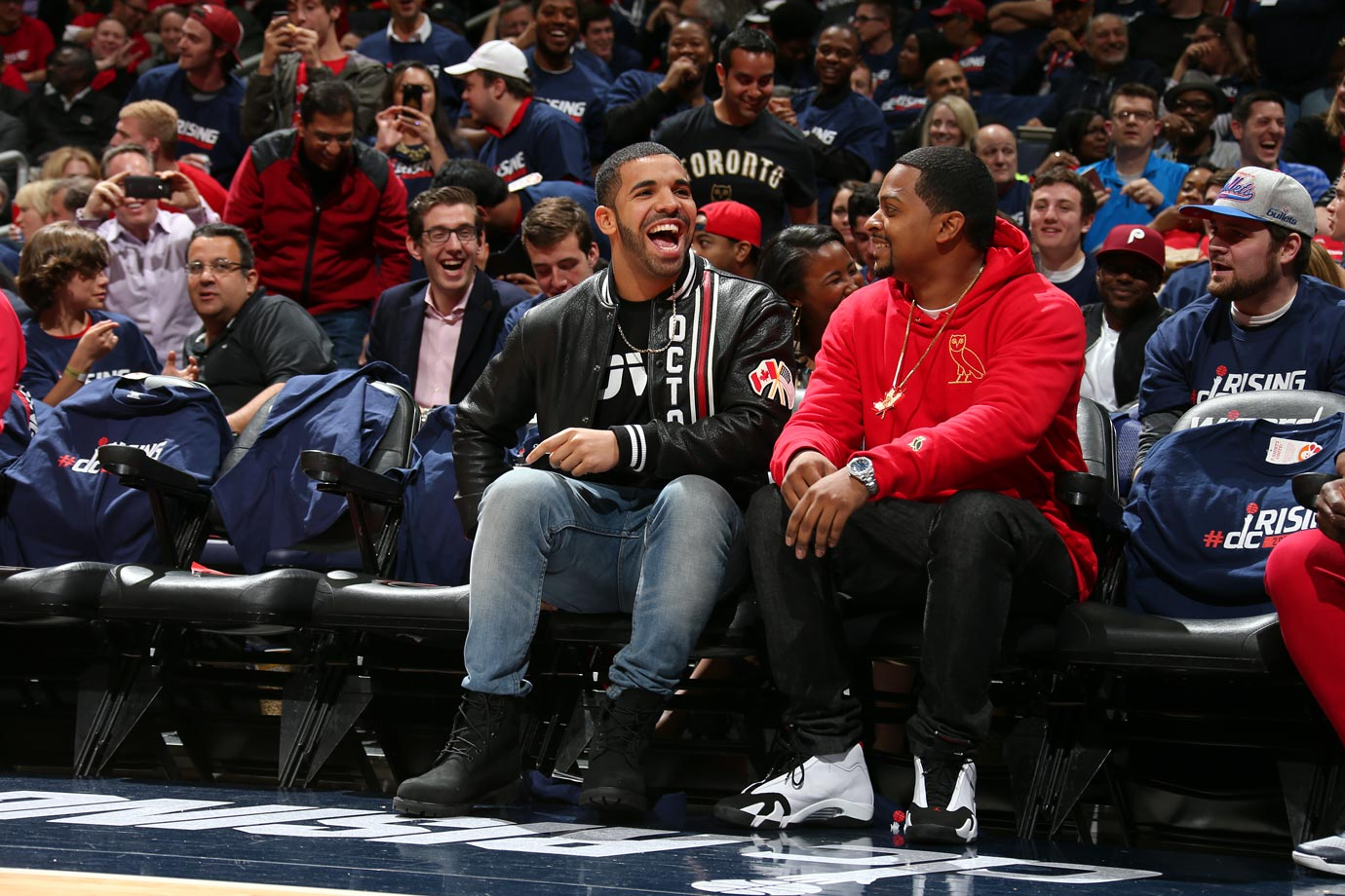 April 24, 2015: Washington Wizards vs. Toronto Raptors at Verizon Center in Washington, D.C. — Eastern Conference Quarterfinals, Game 3