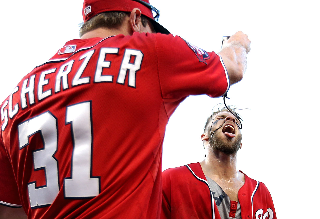 Harper homered for the sixth time in his past three games with a two-run shot in the bottom of the ninth inning that sent the Nationals past the Braves 8-6 on May 9, 2015.
