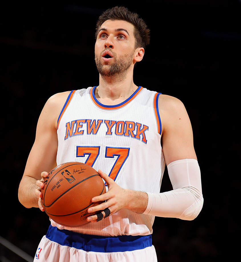 The Knicks produced and distributed a highlight video of center Andrea Bargnani, who averaged 14.8 points in 29 games last season.