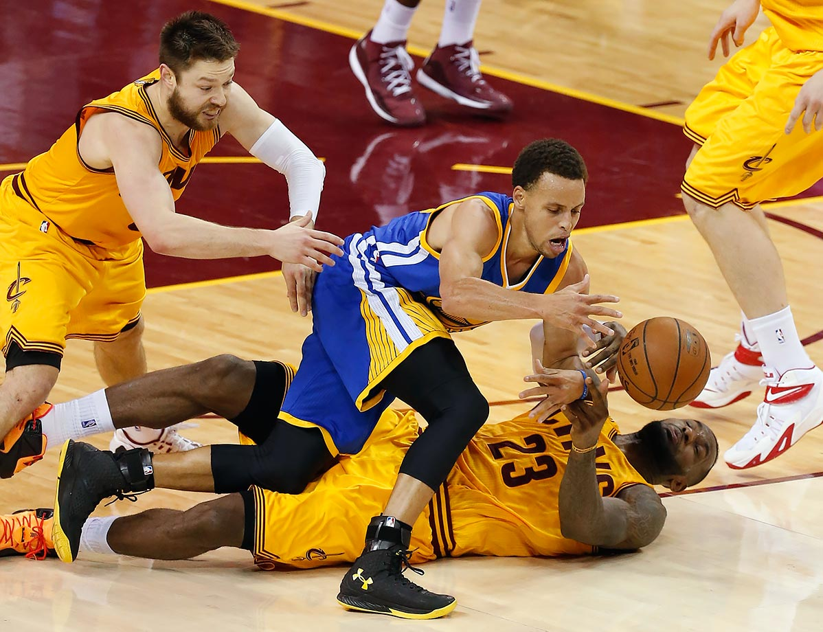 June 9, 2015 — NBA Finals Game 3 — Golden State Warriors vs. Cleveland Cavaliers