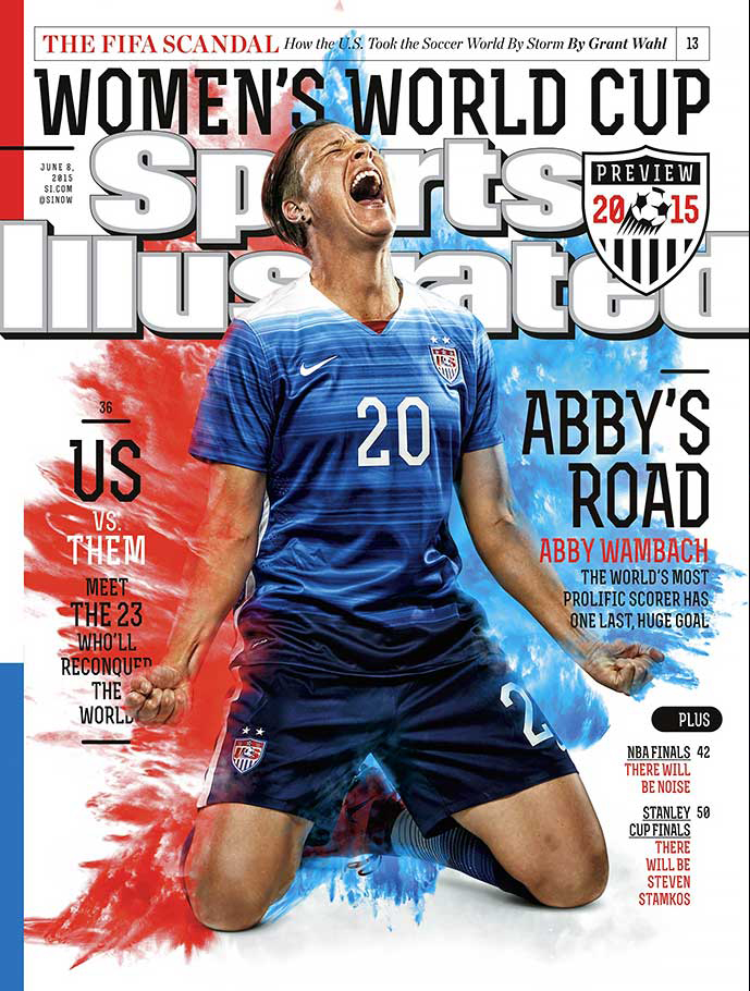June 8, 2015 Sports Illustrated cover