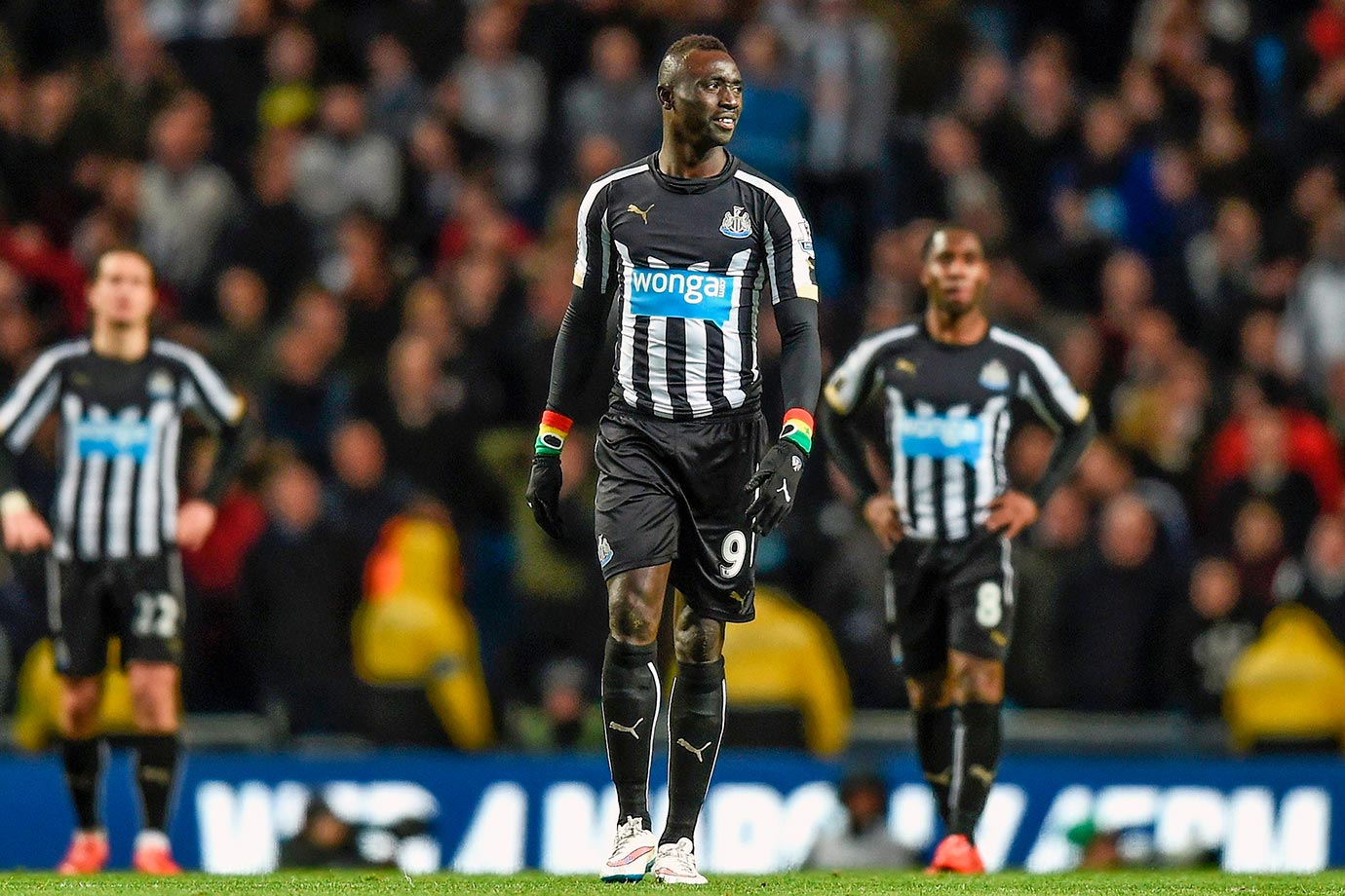 Newcastle midfielder Papiss Cisse told his longtime girlfriend he was taking a postseason vacation, then married another woman while he was away.