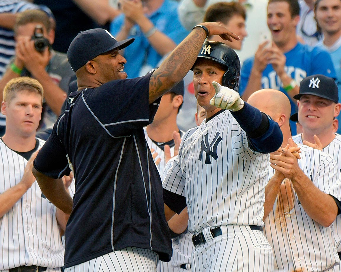 Much to the chagrin of many baseball fans, including many of those in the Bronx, Alex Rodriguez returned from a season-long suspension and hip surgery to put together one of the most amazing comeback seasons ever. In his age-40 season, he became the 29th member of the 3,000-hit club, and just the third to hit a home run for 3K, along with Wade Boggs and Derek Jeter. Rodriguez is now fourth on the all-time homer list, and he joined Hank Aaron and Willie Mays as the only players with 600 home runs and 3,000 hits.