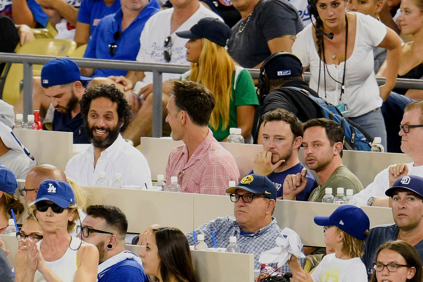 October 10, 2015: Los Angeles Dodgers vs. New York Mets at Dodger Stadium in Los Angeles —National League Division Series, Game 2