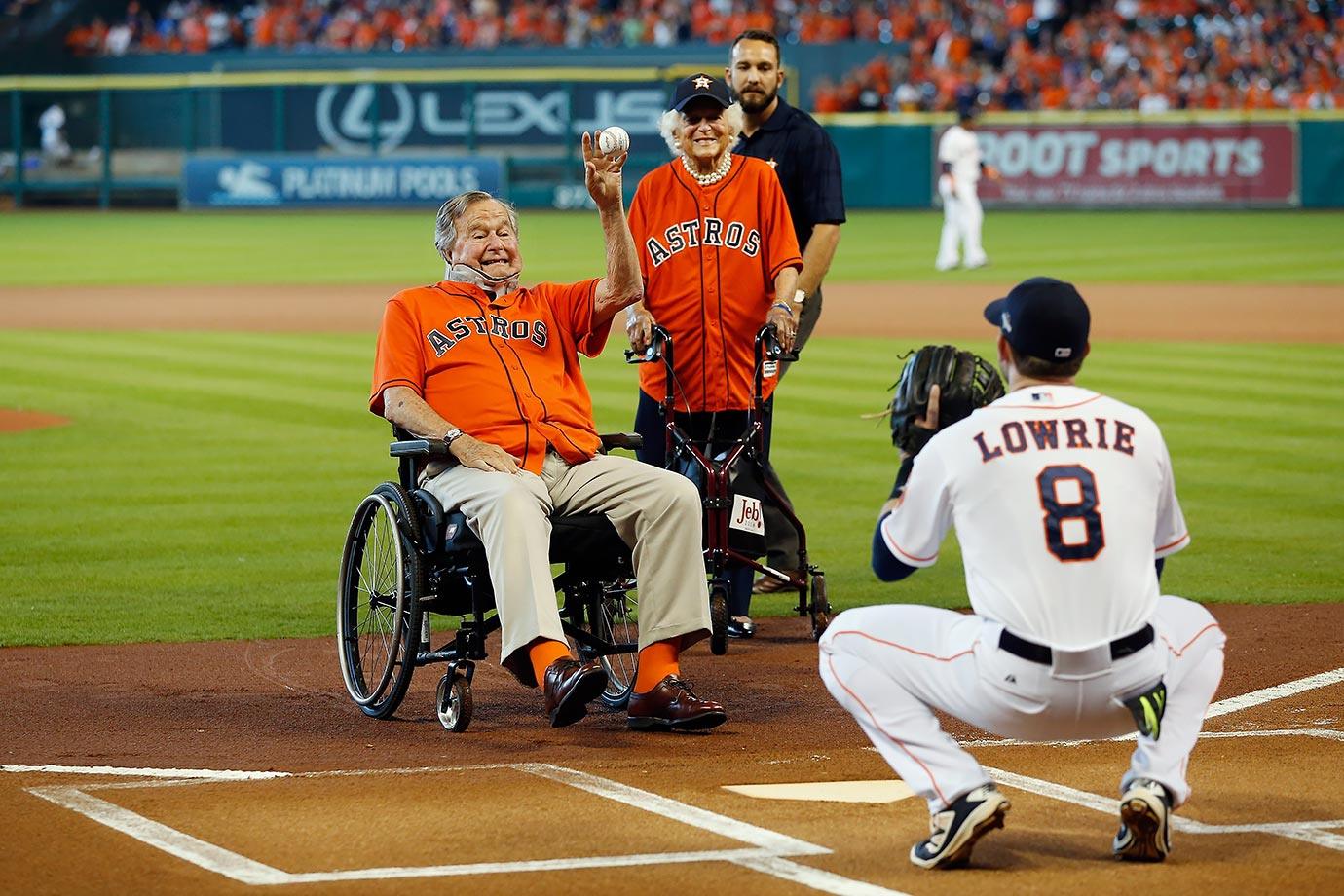 October 11, 2015: Houston Astros vs. Kansas City Royals at Minute Maid Park in Houston —American League Division Series, Game 3