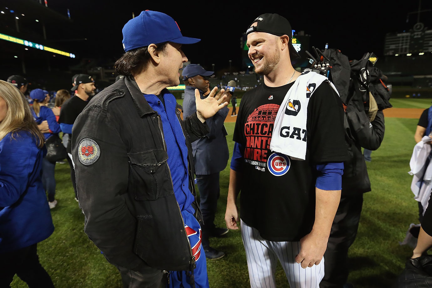 October 13, 2014: Chicago Cubs vs. St. Louis Cardinals at Wrigley Field in Chicago — National League Division Series, Game 4