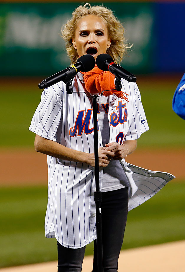 October 17, 2015: New York Mets vs. Chicago Cubs at Citi Field in New York —National League Championship Series, Game 1