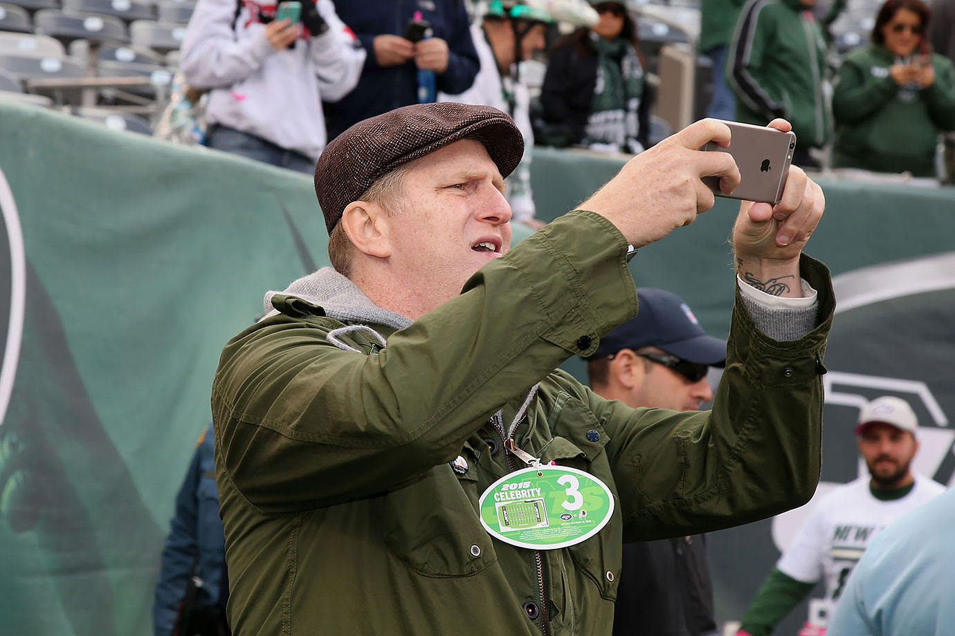 New York Jets vs. Washington Redskins on Oct. 18, 2015 at MetLife Stadium in East Rutherford, N.J.