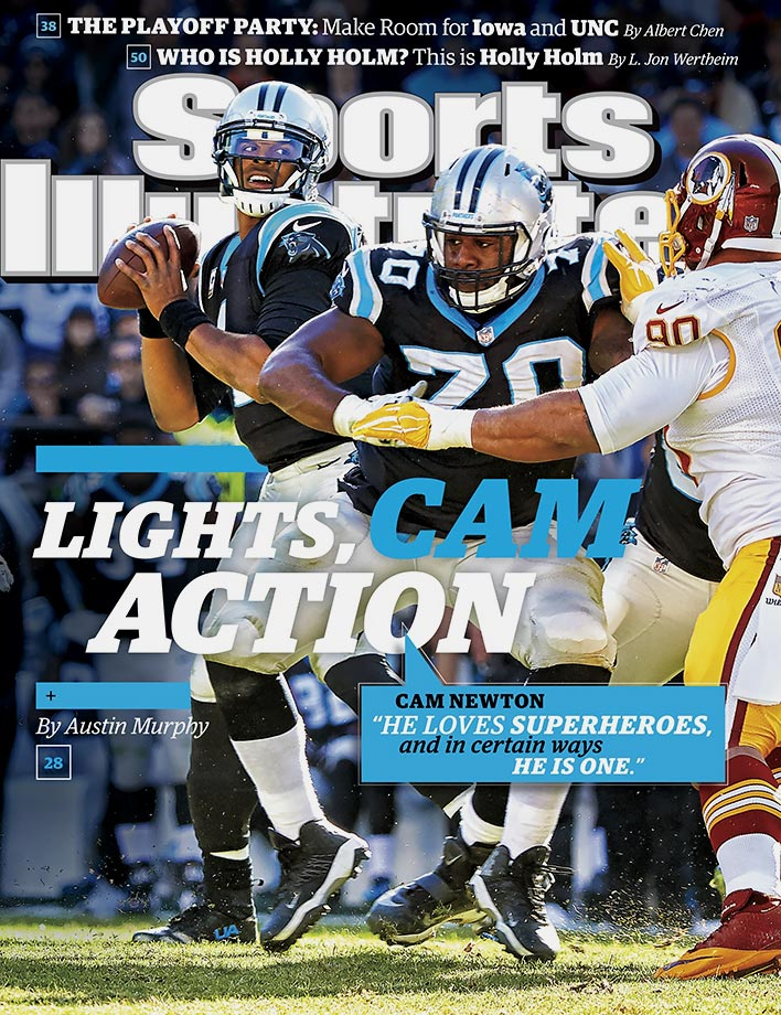 Week 11 was one of Newton's best as he threw for 246 yards, five touchdowns and no interceptions in Carolina's dominant 44-16 victory over the Washington Redskins. But this game was just as much a defensive masterpiece as it was offensive. The defense sacked quarterback Kirk Cousins five times and forced five turnovers—one interception and four fumbles. The victory gave the Panthers a 10-0 record heading into a Thanksgiving Day matchup with the Dallas Cowboys.