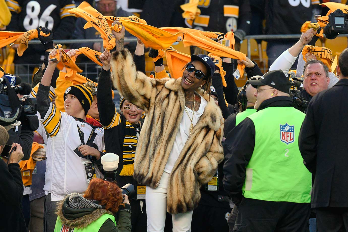 Pittsburgh Steelers vs. Denver Broncos on Dec. 20, 2015 at Heinz Field in Pittsburgh.