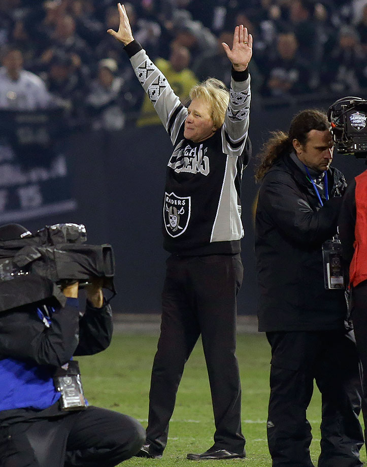 Oakland Raiders vs. San Diego Chargers on Dec. 24, 2015 at O.co Coliseum in Oakland, Calif.