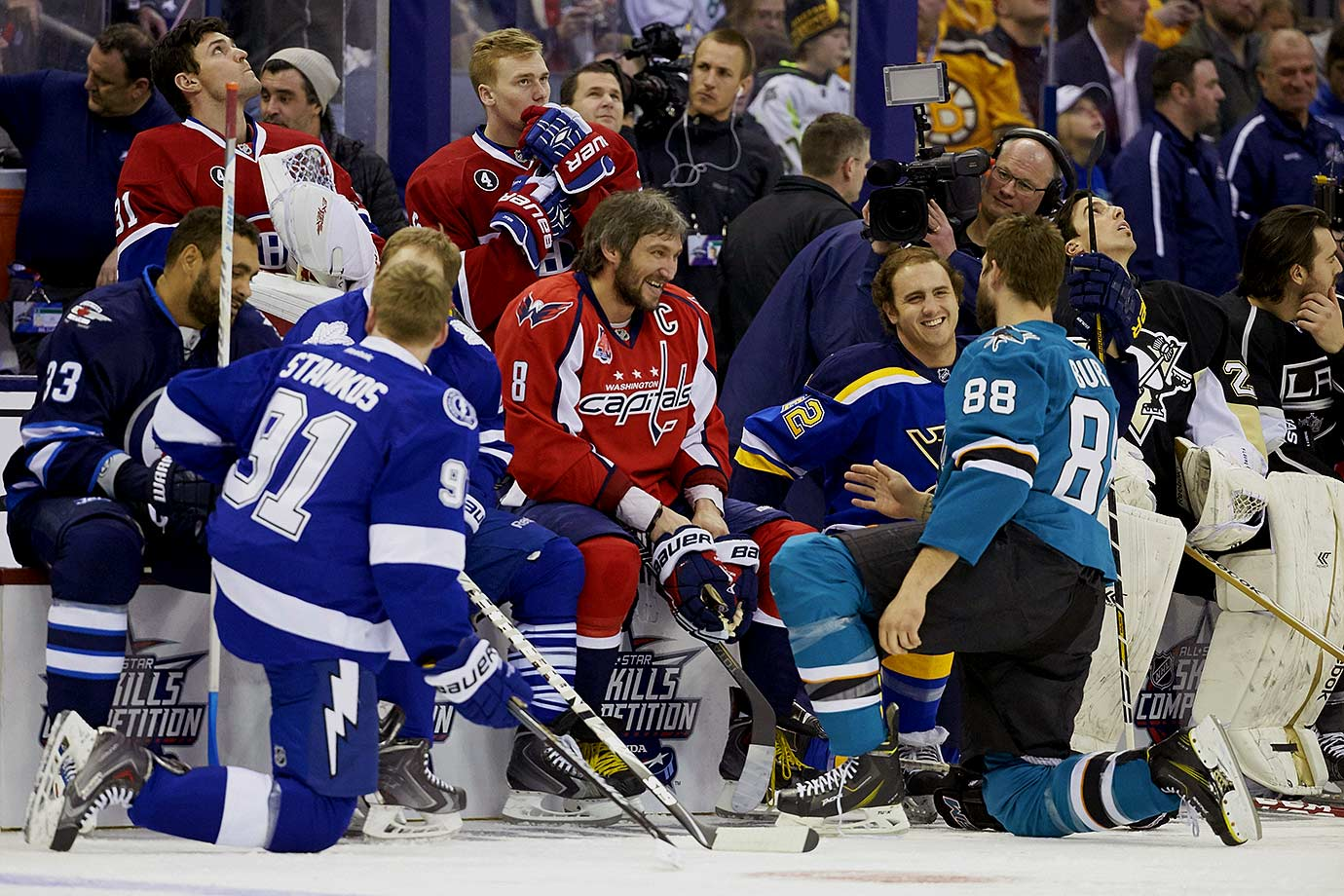 January 24, 2015 — NHL All-Star SuperSkills Competition