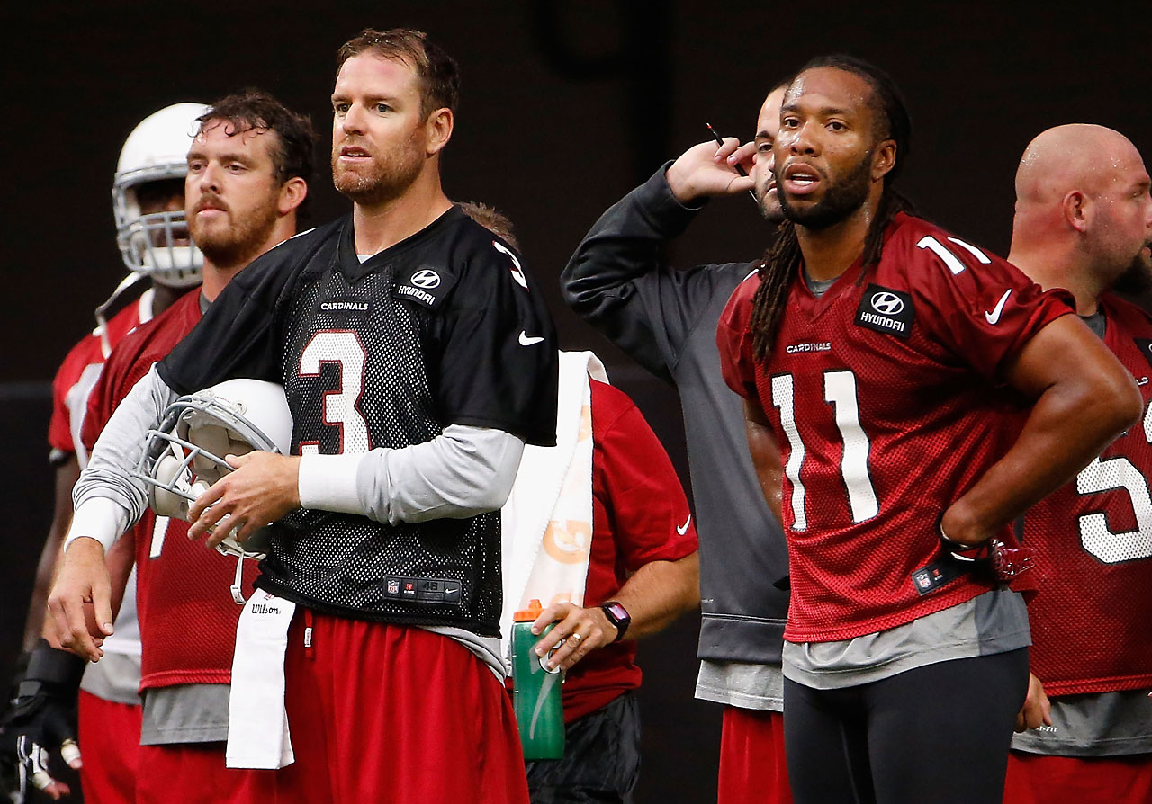 Palmer and Larry Fitzgerald entered the 2015 season knowing their window of opportunity to win a Super Bowl is closing. Their overtime victory over Green Bay in a January divisional playoff game put them within one win of getting there.