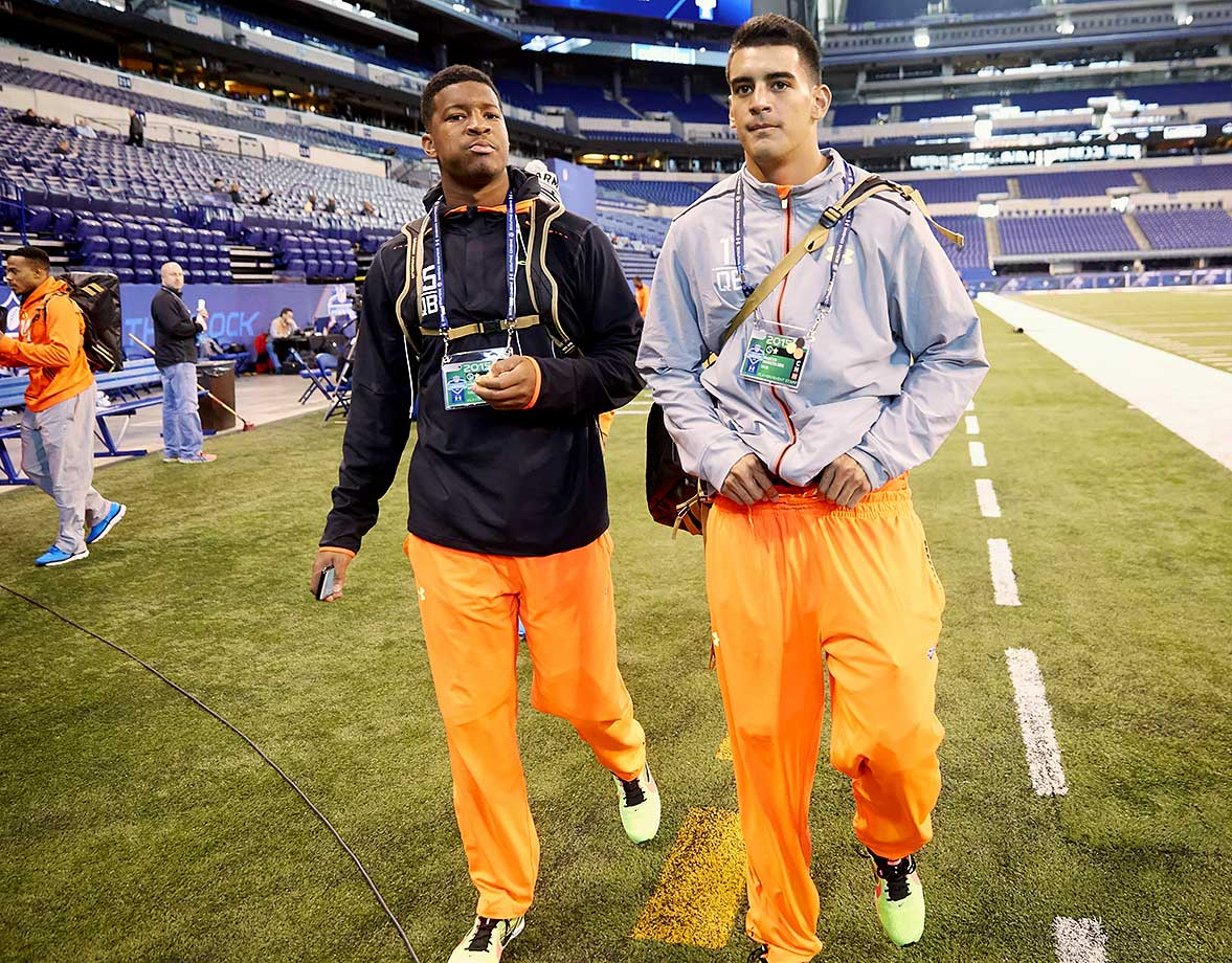 Jameis Winston and Marcus Mariota