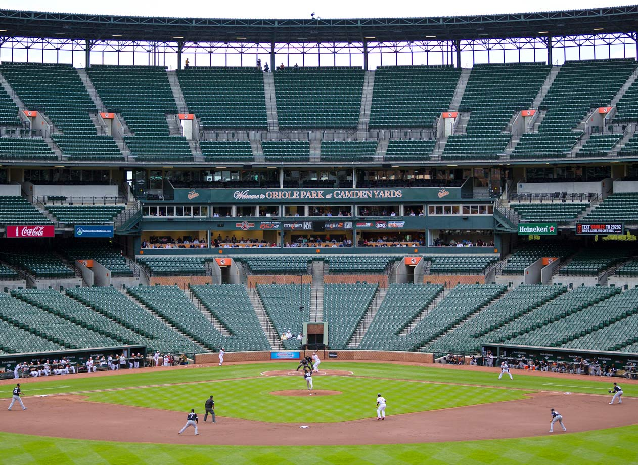 With the stadium closed to fans due to safety concerns, the only people in the ballpark at Camden Yards were the players, umpires, media and team officials. The lack of spectators created one of the most unique game environments in American sports history as Baltimore defeated Chicago 8-2.  The decision to close the ballpark was made after several days of unrest in Baltimore as citizens protest the death of Freddie Gray.