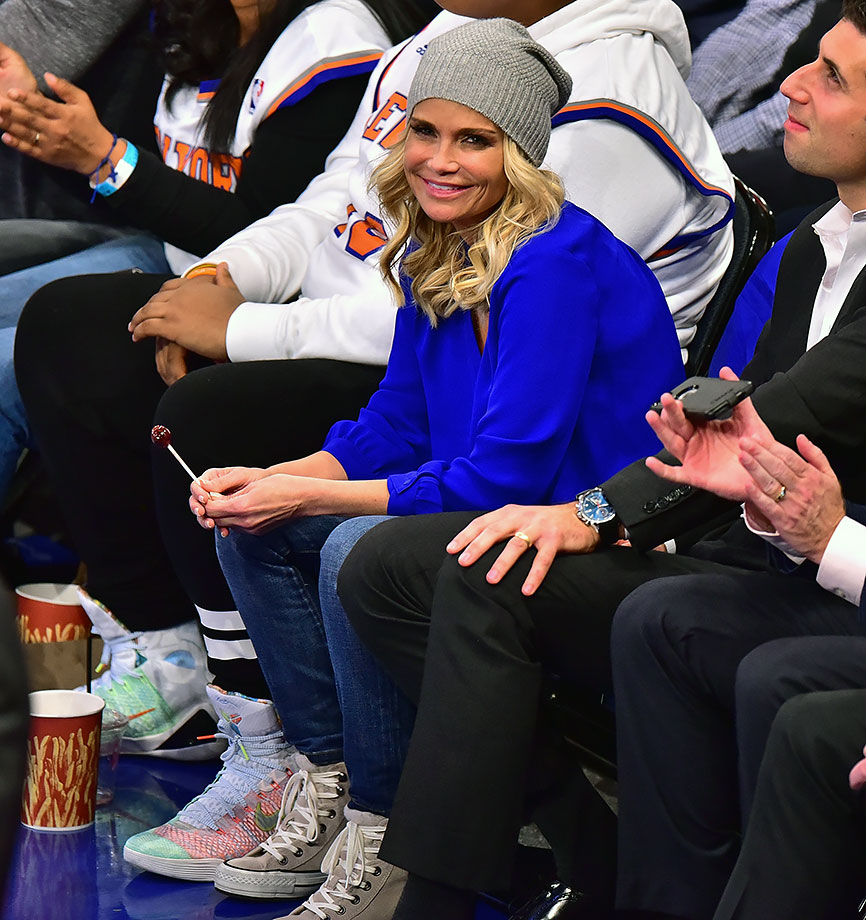 Jan. 26, 2016 — Knicks vs. Thunder at Madison Square Garden in New York City