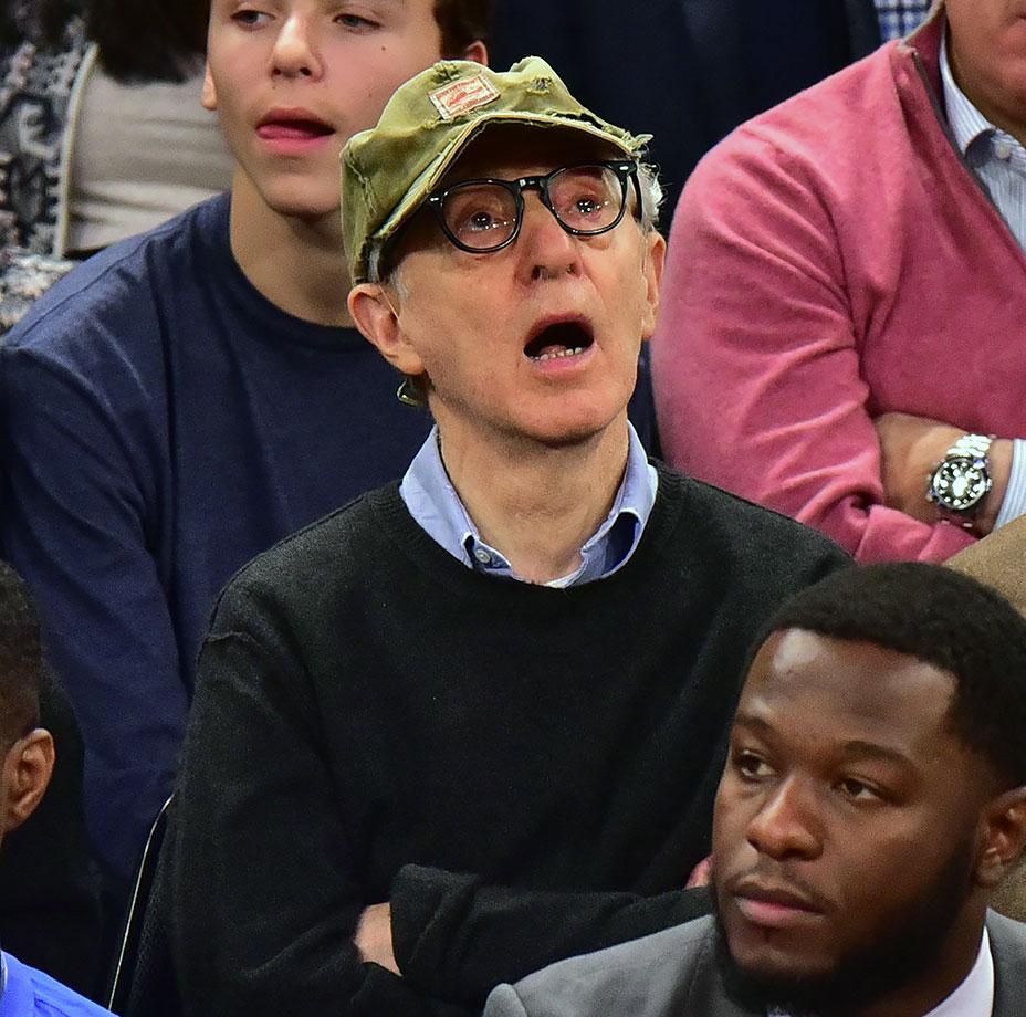 Jan. 26, 2016 — Knicks vs. Thunder at Madison Square Garden in New York City