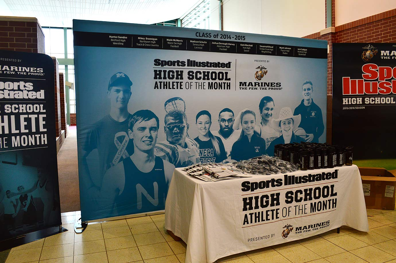 Sports Illustrated traveled to Harper Woods High in Michigan on Tuesday, Feb. 9, to recognize January selection Daijon Smith as the SI High School Athlete of the Month, presented by the U.S. Marine Corps.