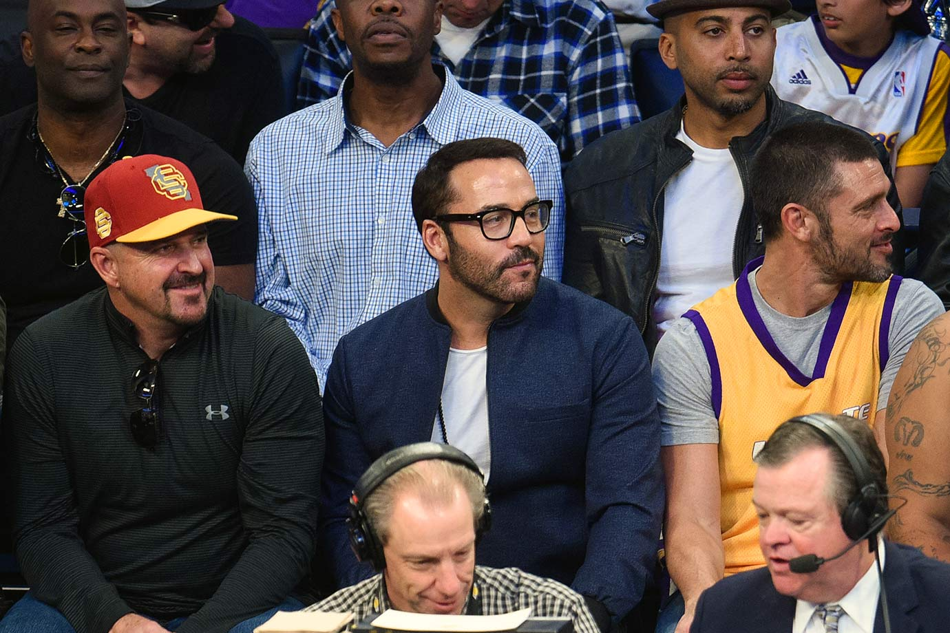 March 6, 2016 — Lakers vs. Warriors at Staples Center in Los Angeles