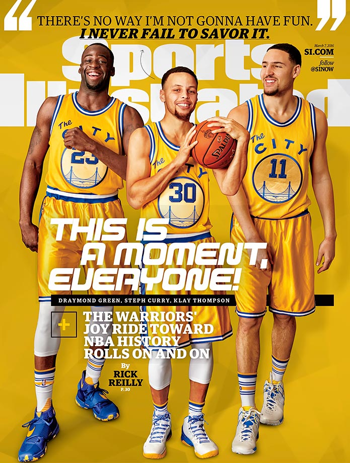 Spending time with Steph Curry and Co., Rick Reilly found that the NBA's best team doesn't merely dominate. It also delights, enthralls and inspires.