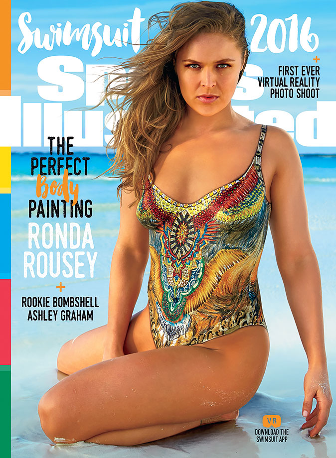 UFC champion Ronda Rousey landed one of three individual SI Swimsuit 2016 covers.