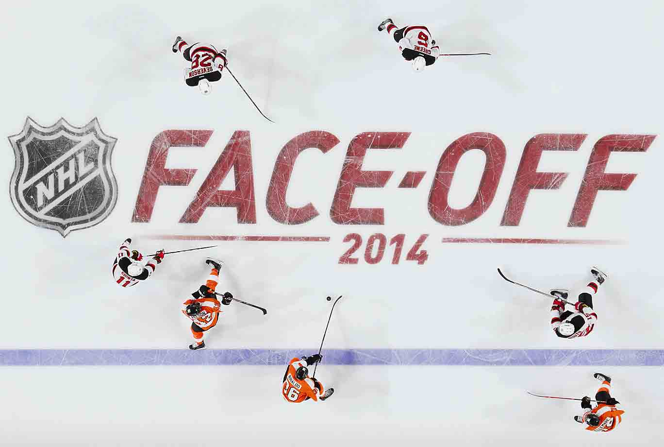 The upstart Devils spoiled the Flyers' home opener at Wells Fargo Center with a 6-4 win on Oct. 9.