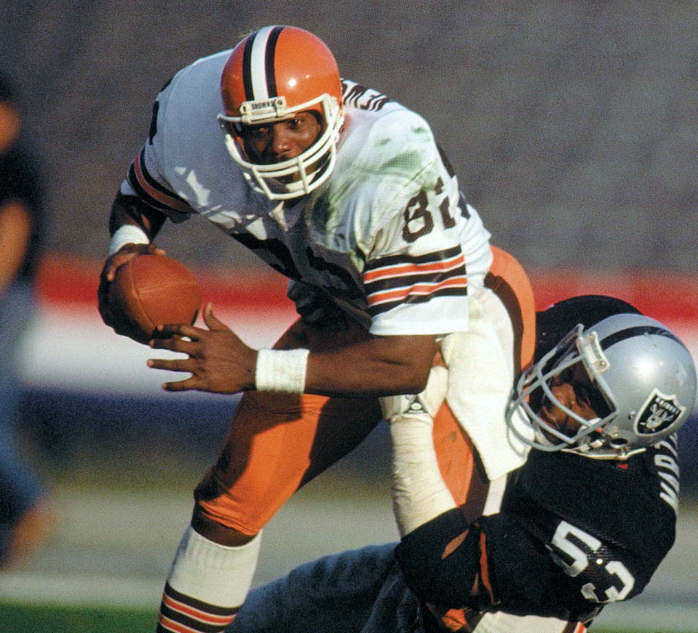 "No matter where he winds up in the record books, ""The Wizard of Oz"" will forever stand as the groundbreaker for the modern-day tight end explosion. His Credentials: Three-time Pro Bowl selection, seven-time All-Pro, named to NFL's All-Decade Team for the 1980s; 662 career catches; 47 career touchdowns, played in 198 consecutive games, inducted into Hall of Fame in 1999. Others in Consideration: Antoine Winfield (1999, Bills); Ty Law (1995, Patriots); Bruce Armstrong (1987, Patriots)"