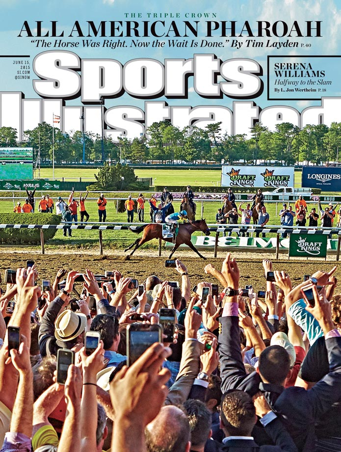 June 15, 2015 | American Pharoah ended a nearly four-decade Triple Crown drought by winning the 147th Belmont Stakes, and making it look easy.