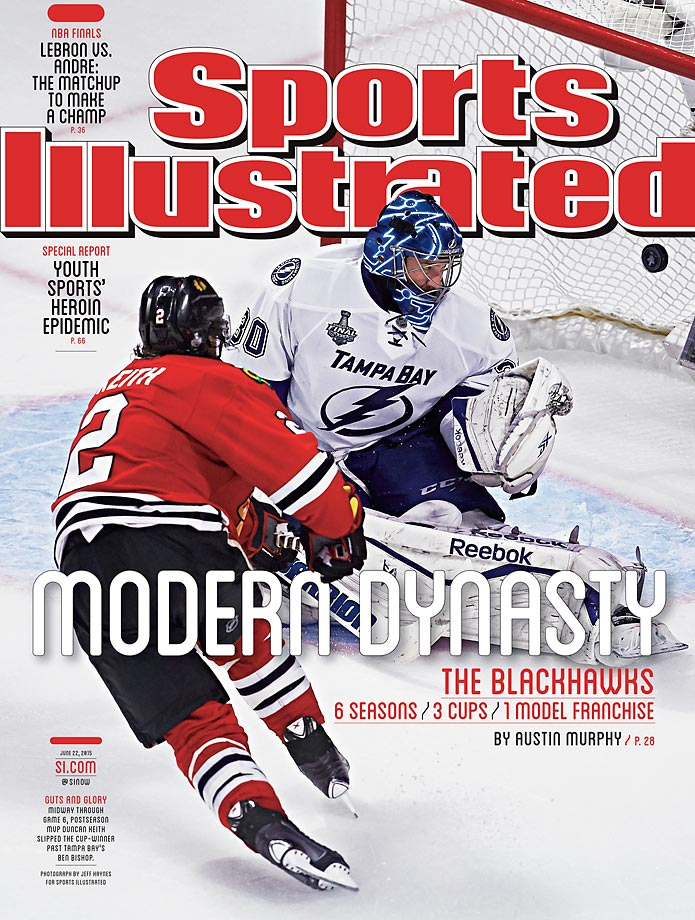 June 22, 2015 | The Chicago Blackhawks capped off their third Stanley Cup title in six years with a victory over the Tampa Bay Lightning and are now hockey's newest modern day dynasty.